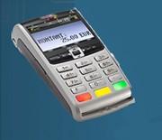 Terminal de paiement portable 3G - Processeur : 32 bits RISC - Mémoire : 16 MB Flash - 16 MB SDRAM