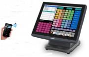 Terminal point de vente à écran tactile 15'' - Systèmes intégrés : télécommande, tablette ou smartphone