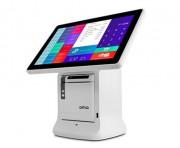 Terminal point de vente écran tactile - Gestion de tabac presse   - 2ème écran publicitaire
