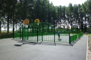 Terrain multisports extérieur - Football, basket-ball, hand-ball, volley-ball, tennis...