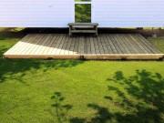 Terrasse mobile home 4,00 X 2,50 m - 4,00 X 2,50 m