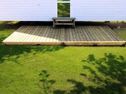 Terrasse pour mobilhome 10 m² - Surface : 10 m2