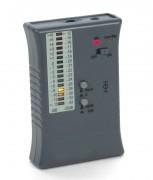 Testeur boucle magnétique - Plage de mesure : +6 dB ...-51 dB (0 dB = 400mA/m)