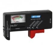 Testeur de batterie universel compact - 3 indicateurs colorés pour lecture précise de batterie