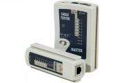 Testeur réseau et téléphonie - Testeur RJ45 / RJ12 / RJ11 réseau et téléphonie