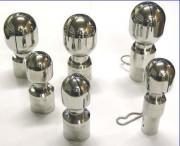 Tête de lavage rotative à dispersion uniforme - Nettoyage de réservoirs ouverts ou fermés
