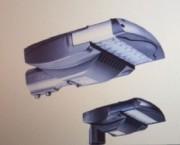 Tête lampadaire LED - Structure en aluminium