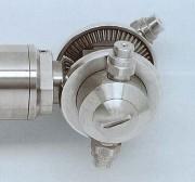 Tête rotative gros débits - 2 modèles : Motorisation électrique ou pneumatique