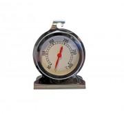 Thermomètre à four en inox - Amplitude : + 50 + 300 °C