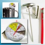 Thermomètre de lait à cadran - Amplitude : +50+100 °C/ +120+210 °F