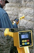 Thermomètre humidimètre pour balles - Humidité : 10 à 80 % - Température : 1 à 100 °C