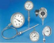 Thermomètre industriel à cadran