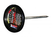Thermomètre pour barbecue - Pour connaître la température intérieure des aliments