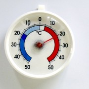 Thermomètre pour congélateur et réfrigérateur - Amplitude : - 50 + 50
