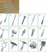 Tiges métalliques rotatives pour débouchage - Tiges métalliques rotatives - Longueurs : 1m, 1.5m, 2m