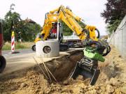Tiltrotateur à moteur hydraulique inclinaison et rotation simultanées - Tiltrotateur à moteur pour mini-pelle et pelle chantier