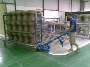 Timon motorisé batterie amovible - Capacité maximum : 2000 kg