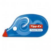 TIPP EX Roller de correction jetable correction à sec 4,2 mm x 9 m POCKET MOUSE - Tipp-Ex®