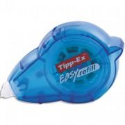 TIPP EX Roller de correction rechargeable Easy refill 5mmx14 mètres. Application frontale - Tipp-Ex®