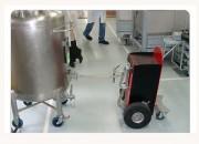 Tireur pousseur cuve pharmaceutique - Électrique - Capacité : de quelque kilos à plusieurs tonnes