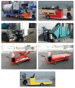 Tireur pousseur électrique sur mesure - Traction facilité de charges moyennes à lourdes