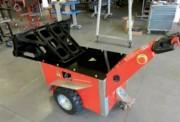 Tireur pousseur professionnel - Capacité maximale supportée : 80 tonnes sur rails