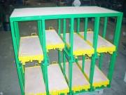 Tiroir charge lourde - Charges jusqu'à 2000 kg par travée