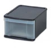 Tiroir plastique empilable en polypropylène - Capacité : 15 ou 25 Litres