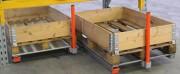 Tiroir rack à palettes - Installation sur les lisses du rack à palettes