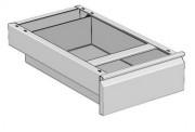 Tiroirs pour table de cuisine - Largeur table 700 ou 800 mm
