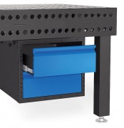 Tiroirs pour table de soudure - Dimensions de la Box (L x l x H) : 630 x 510 x 420 mm