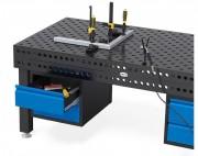 Tiroirs table de soudure - Capacité de charge max. 100 kg
