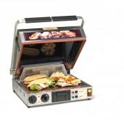 Toaster à convoyeur pour hamburger - 3 en 1: Four/grill, Presse-sandwich