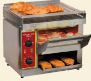 Toaster à convoyeur professionnel 500 toasts/h max - Débit : 300 à 500 toasts/h - Puissance : 2,3 Kw