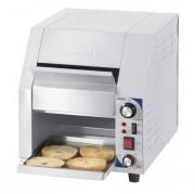 Toaster convoyeur à voyant lumineux de chauffe - Grille-pain débit 300 toasts/heure