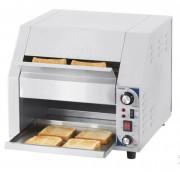 Toaster convoyeur en acier inox larges dimensions - Dimensions : L 465 x P 570 x H 413 mm