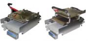 Toaster de contact - Dimensions (L x p x h) : 409 x 756 x 386 mm