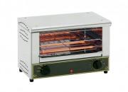 Toaster double étage - Rendement : 300 toasts par heure - Poignée amovible