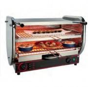 Toaster électrique à 2 étages gros débit - Débit (pièces/h) : 480/500