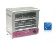 Toaster électrique à quartz 2 étages - Tubes quartz pour allumage instantané