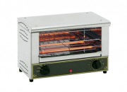 Toaster infrarouge - Puissances : 2 - 3 Kw - Dimensions : 450 x 300 x 305 - 450 x 300 x 420 mm - Type : Horizontal