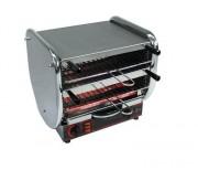Toaster inox 2 étages - Débit (pièces/h) : 280/300