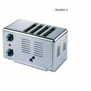 Toaster inox vertical - Tout inox