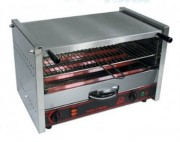 Toaster salamandre à régulateur de chaleur - Régulateur de chaleur 5 fonctions, 4 tubes de quartz