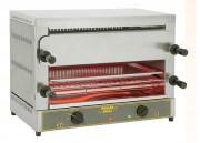 Toaster salamandre double étage 400 toasts par heure - Rendement : 400 toasts / heure - Puissance : 4 kW