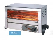 Toasters tubes à quartz ou infra-rouge - Dimension (L x P x H) mm : Jusqu'à 525 x 305 x 405