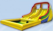 Toboggan gonflable aquatique pour enfant