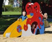 Toboggan petits enfants - Âges d'usage : De 1 à 6 ans