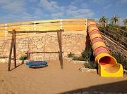 Toboggan tunnel - Multicolore - 4 coloris au choix