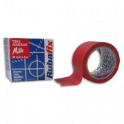 Toile adhésive MILLE, plastifiée et imperméable, rouleau de 38mmx rouge - Rubafix